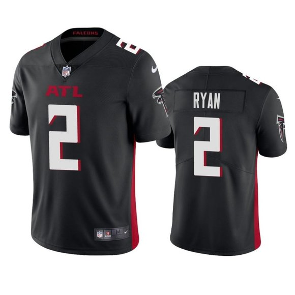Falcons Matt Ryan Black Jersey
